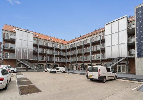 Kontorer blev til boliger i omfattende renovering