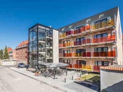30 moderne nye ungdoms-/studieboliger i Odense C
